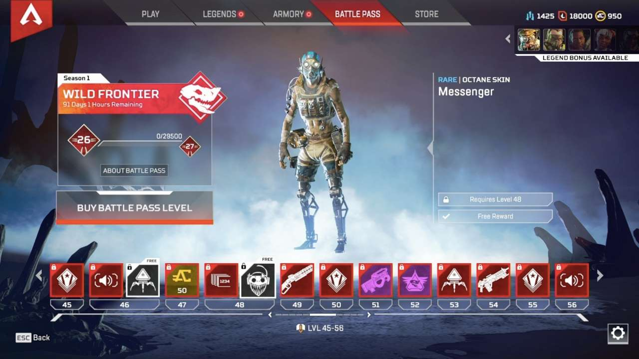 Apex Legends Patch Notes: Update Alters Hit Boxes, Adds