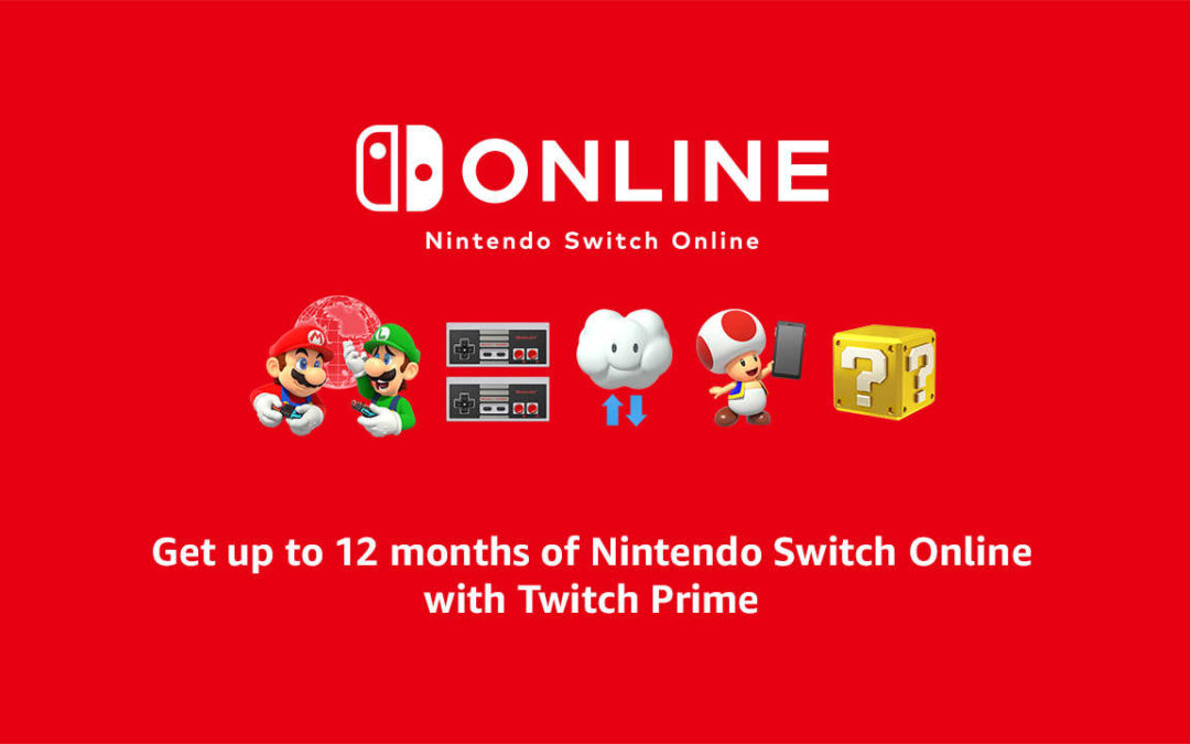 Get A Year Of Nintendo Switch Online Free With Twitch Prime