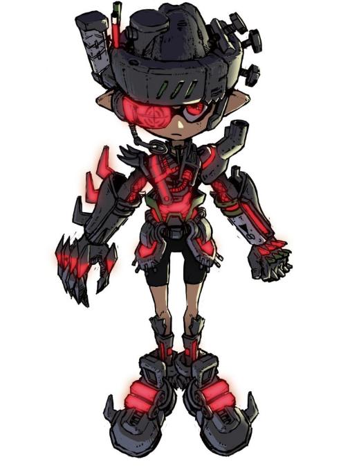 Japan: Splatoon 2 Will Get CoroCoro Fan-Designed Mecha Gear – My Nintendo News