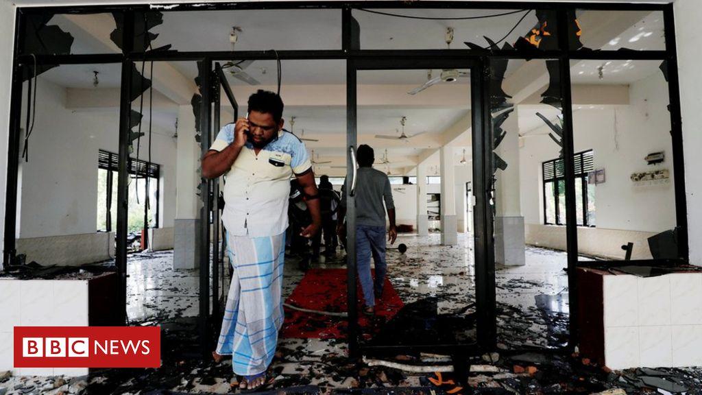 Sri Lanka vows 'maximum force' against rioters
