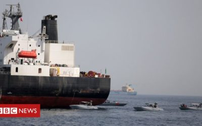 US 'blames Iran' for damaged tankers