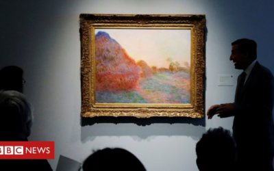 Record money for Monet at US auction