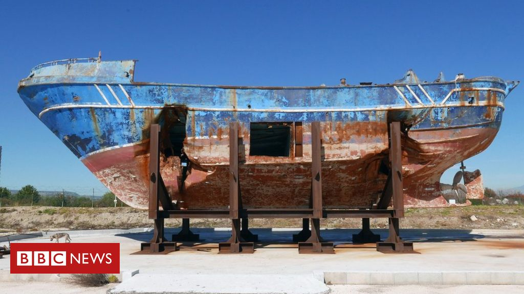 Is exhibiting tragic migrant ship distasteful or art?
