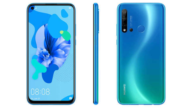 Huawei P20 Lite (2019) leaks: Punch-hole selfie camera and quad rear camera setup – Notebookcheck.net