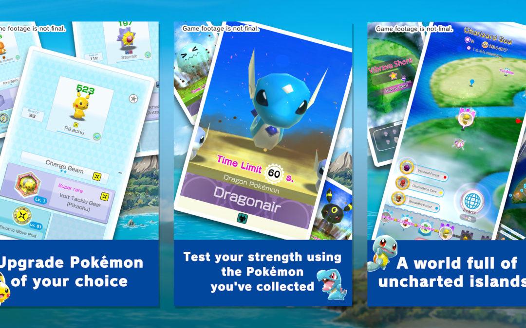 Pokémon Rumble Rush pops up on Australia's Google Play store – Nintendo Wire