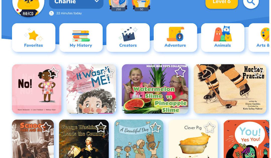 Google's experimental Rivet app helps kids learn to read – Engadget