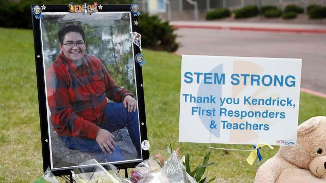 Funeral service for Colorado STEM school shooting hero Kendrick Castillo