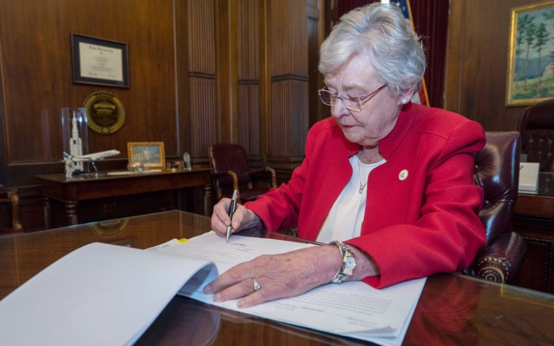 Alabama governor signs abortion bill into law with no exceptions for rape, incest