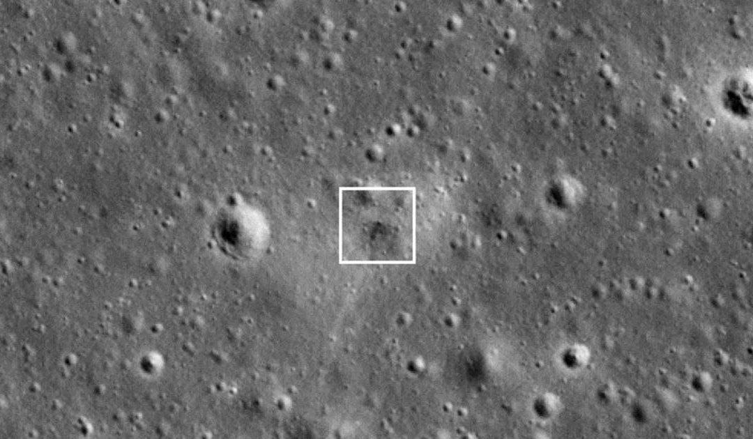 NASA photos show crash site of Israel's Beresheet moon lander – NBC News