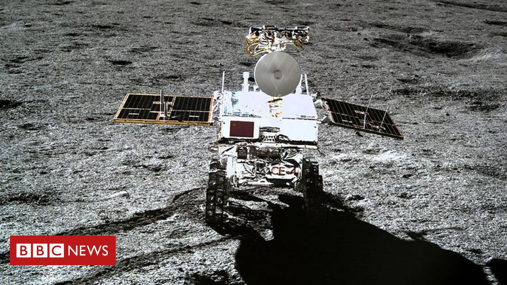 Chang'e-4: Chinese rover 'confirms' Moon crater theory – BBC News