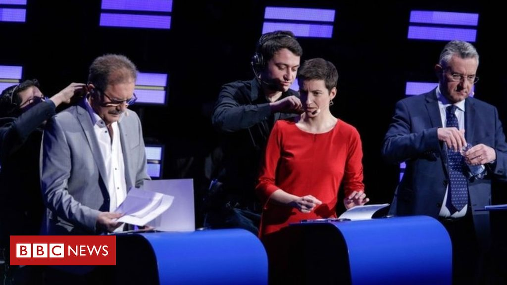 Candidates spar on TV for top EU job