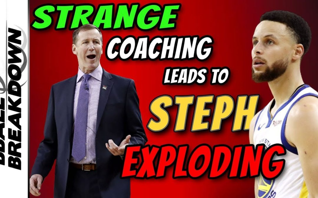 Strange Coaching Leads To Curry Roasting: Game 1 Western Conference Finals – BBALLBREAKDOWN
