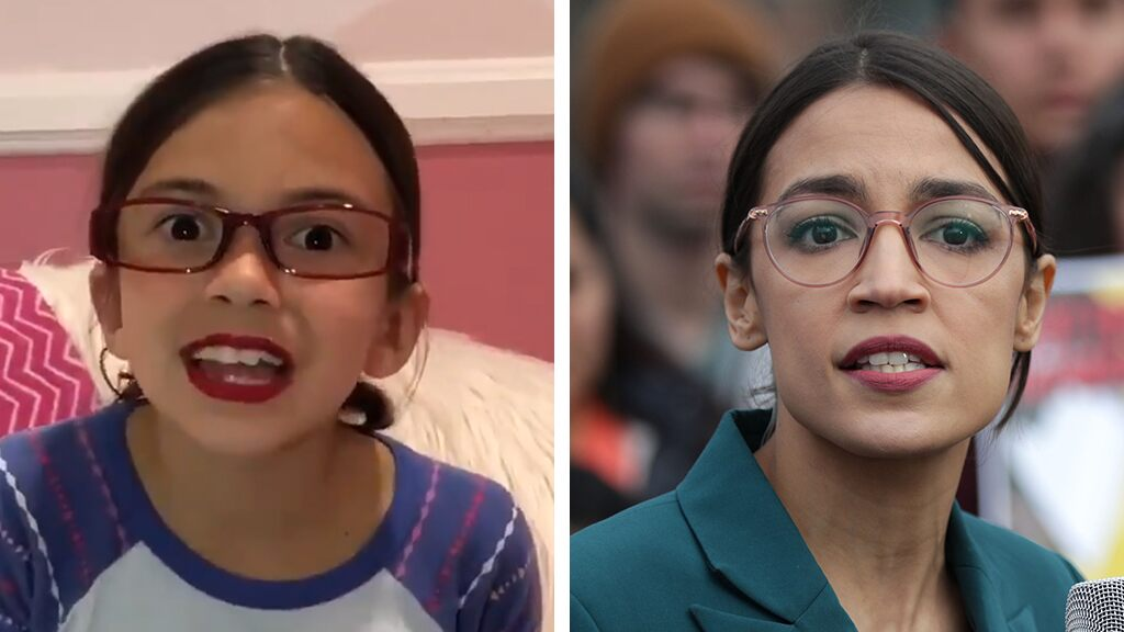 AOC impersonator strikes again, showing off 'electric car' while poking fun at Green New Deal