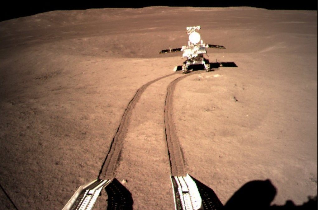 China's rover finds ancient rocks in Moon's biggest crater – Astronomy Magazine