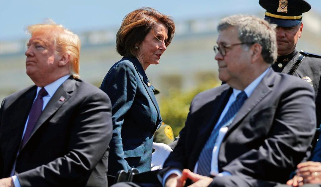'Did you bring your handcuffs?' AG Barr ribs Pelosi about contempt finding – NBC News