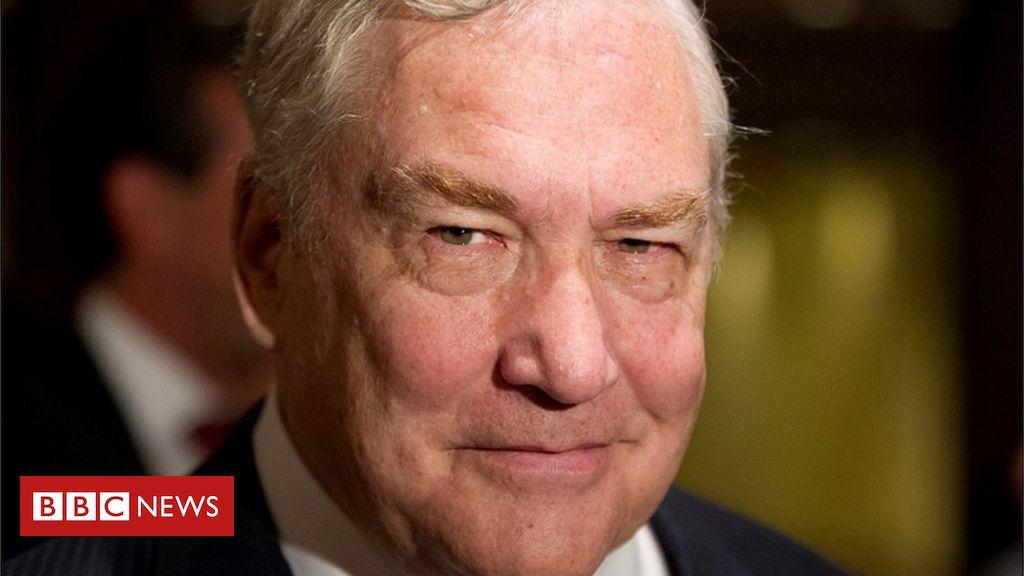 Trump pardons disgraced mogul Conrad Black
