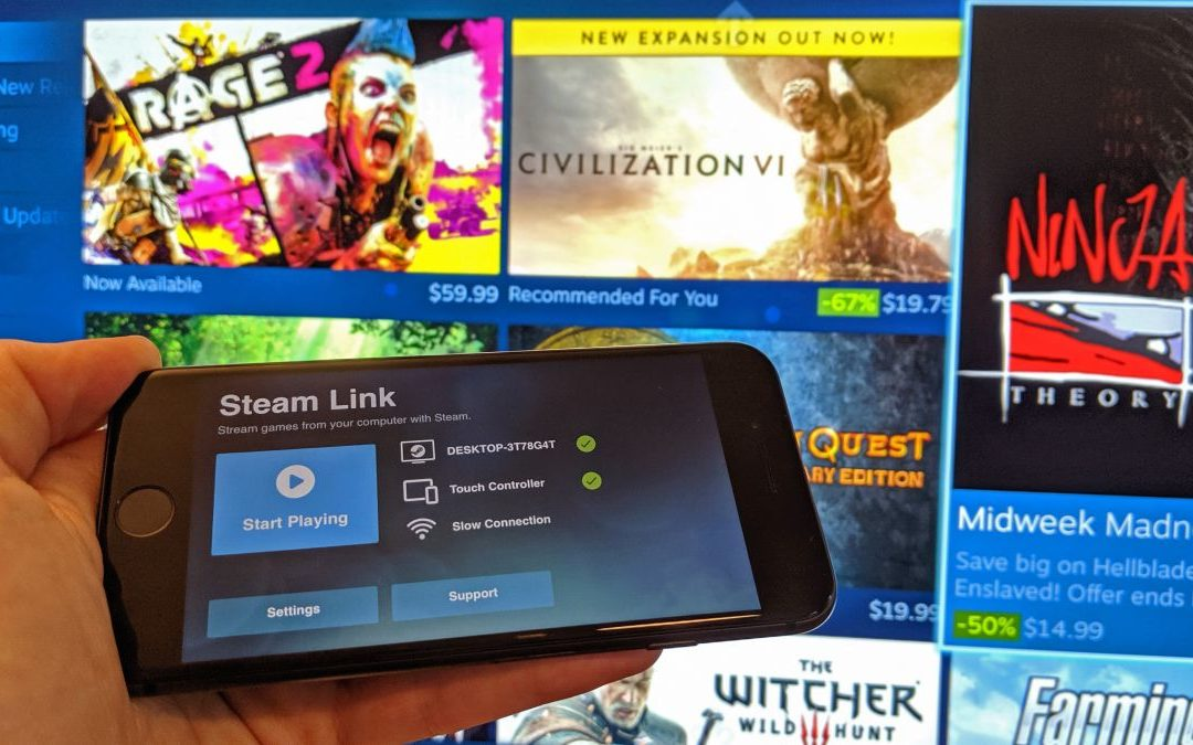 Steam Link is now available for iOS, a year after its initial rejection – PC Gamer