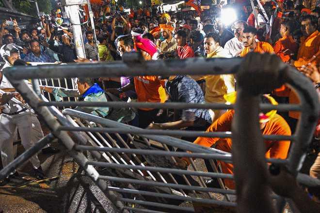Trinamool-BJP showdown