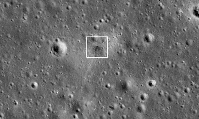 NASA image reveals where Israel's doomed lunar lander crashed into the moon – Daily Mail