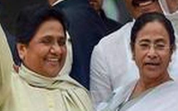 Mayawati comes out in support of Mamata, says ECI acting under pressure