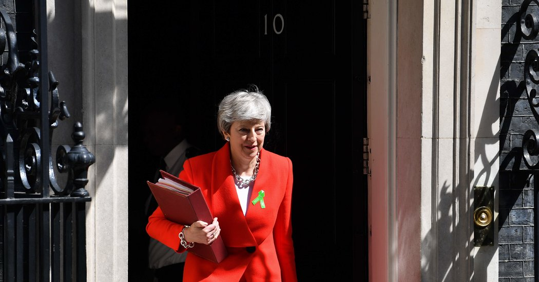 Theresa May's Last Gasp: A 4th Vote on Her Brexit Plan – The New York Times