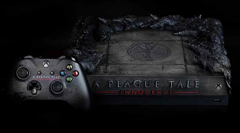 You could win this ratty-looking Plague Tale Xbox One console – Destructoid