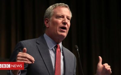 New York Mayor de Blasio to run in 2020