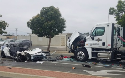 Police release dashcam footage of head-on crash that left 2 'critical'
