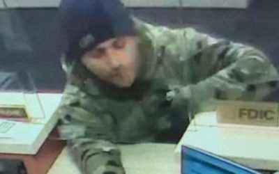 Brazen bank robber terrorizes teller by waving around loaded gun, FBI offer $20G reward