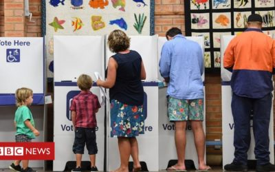 Australians vote in 'generational' election