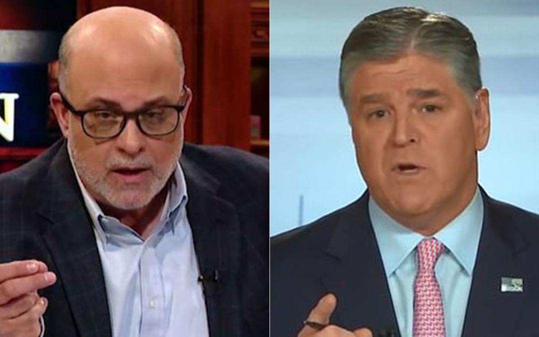 Mark Levin tells 'Hannity' the media has made an all-out push to 'take the president out'