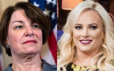 Klobuchar struggles with questions on late-term abortions when pressed by Meghan McCain