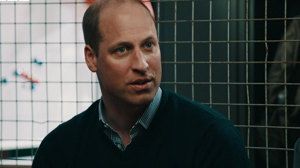 William reveals mental health pressures