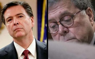Comey lashes out at Barr over Twitter