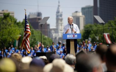 Biden calls for unity in first campaign rally, brands Trump 'divider-in-chief'
