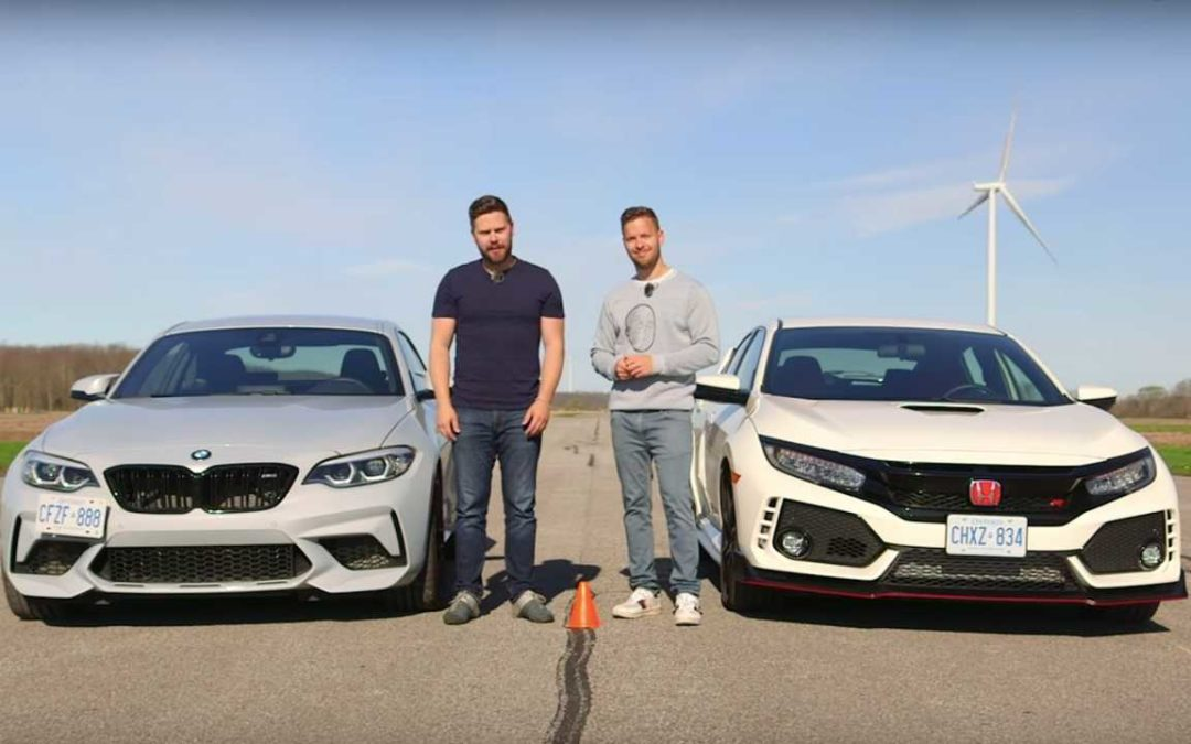 BMW M2 Competition Vs Honda Civic Type R In Unlikely Drag Race – Motor1.com