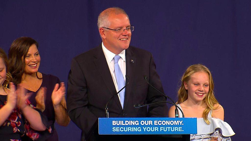 Australian PM close to majority win