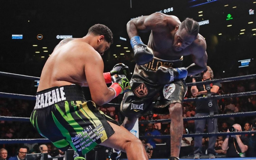 Wilder settles Breazeale feud with one-punch KO – ESPN