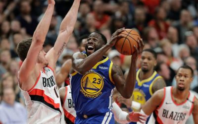 Green, Warriors beat Blazers for 3-0 lead in West finals – Fox News