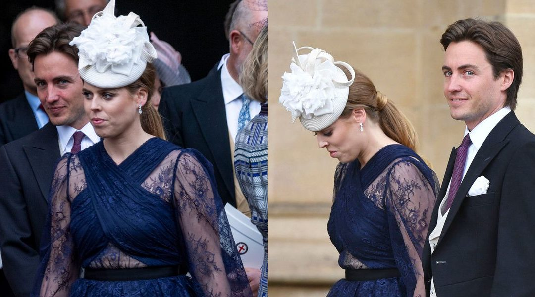 Princess Beatrice and Her Boyfriend Couple Up at Lady Gabriella Windsor's Wedding – HarpersBAZAAR.com