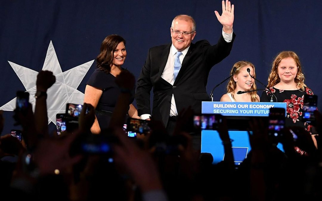 Australia's conservative government revels in 'miracle' re-election – Reuters