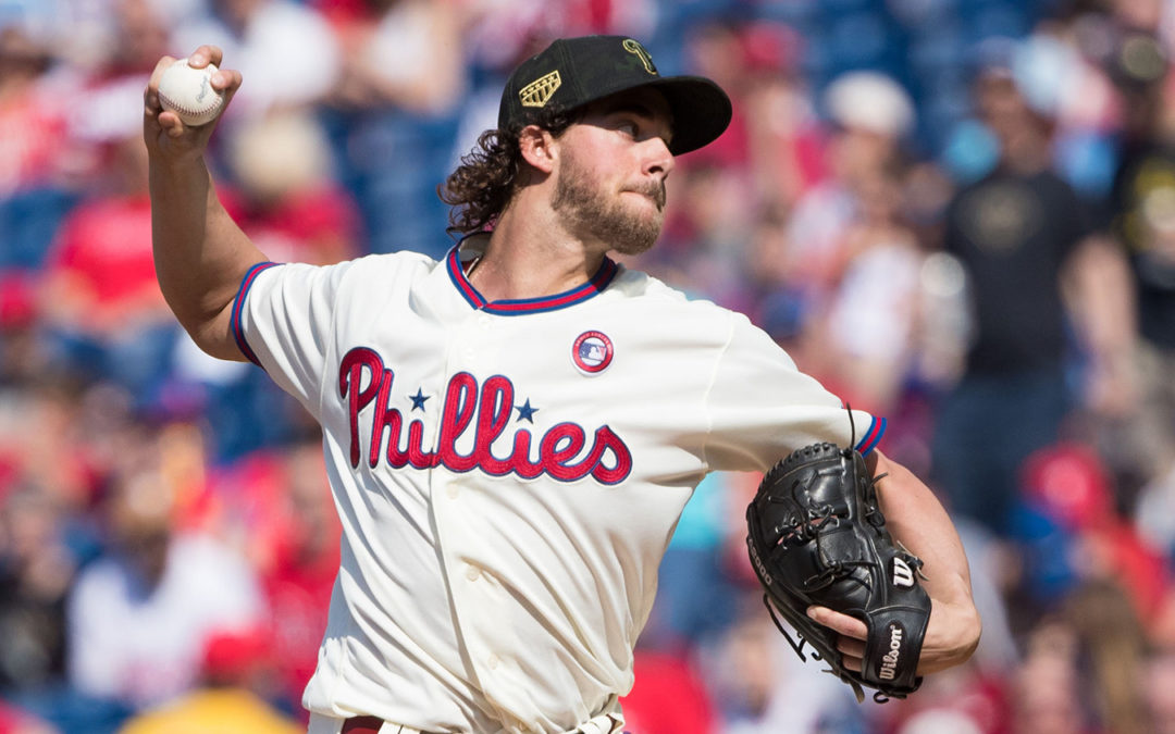 The weather is warming and here comes Aaron Nola – NBCSports.com
