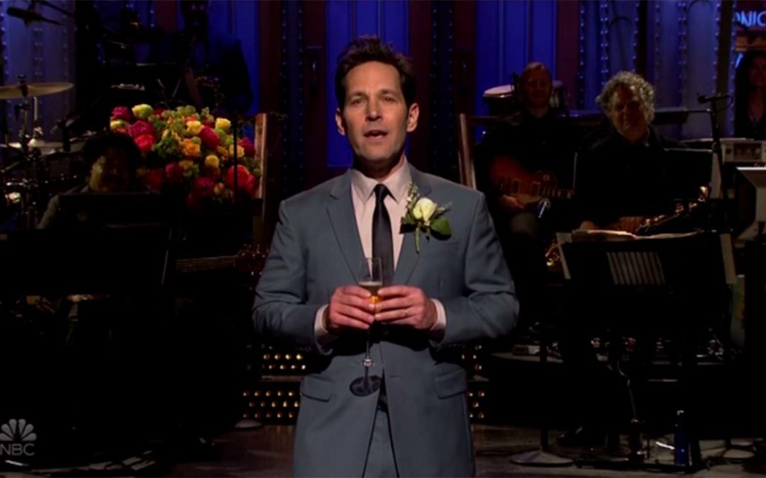 'SNL': Paul Rudd Toasts to Past Moments on the Show – Hollywood Reporter