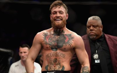 Conor McGregor takes a jab at Rafael dos Anjos after UFC Rochester win over Kevin Lee – Bloody Elbow