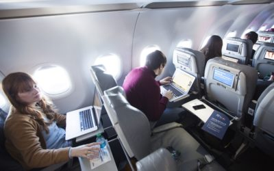 Delta's test of free in-flight Wi-Fi may shame other airlines into offering service – CNBC