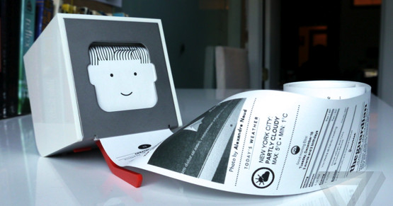 Little Printer returns as an open-source messaging device – The Verge