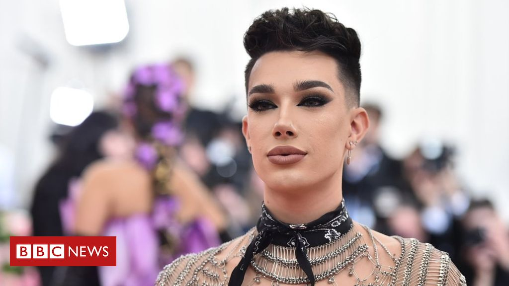 James Charles says it's been 'the darkest time in my life' since YouTube row – BBC News