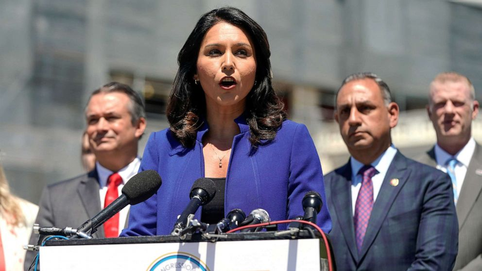 2020 candidate, Rep. Tulsi Gabbard presses that US must not go to war with Iran
