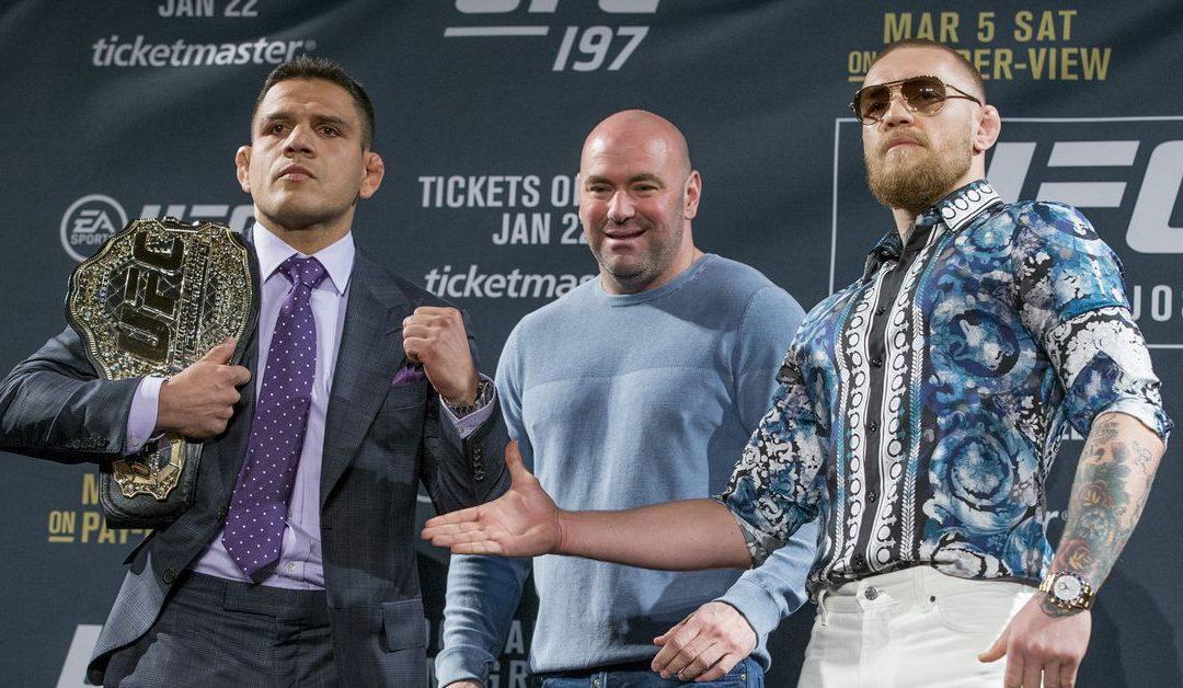 Conor McGregor throws shade at Rafael dos Anjos after UFC Rochester win – MMA Mania