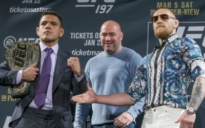 Conor McGregor throws shade at Rafael dos Anjos after UFC Rochester win – MMA Mania